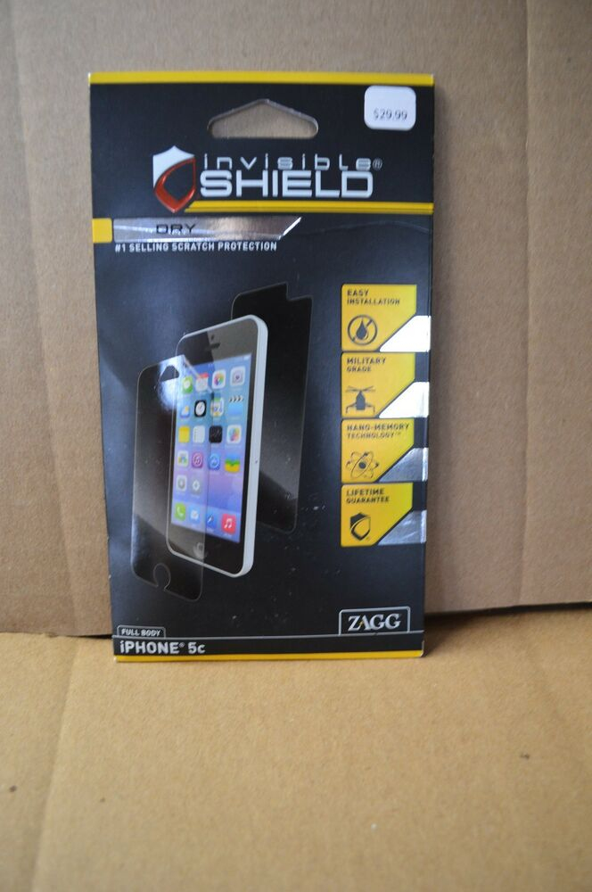zagg iphone 6 new sealed zagg invisible shield screen 13338