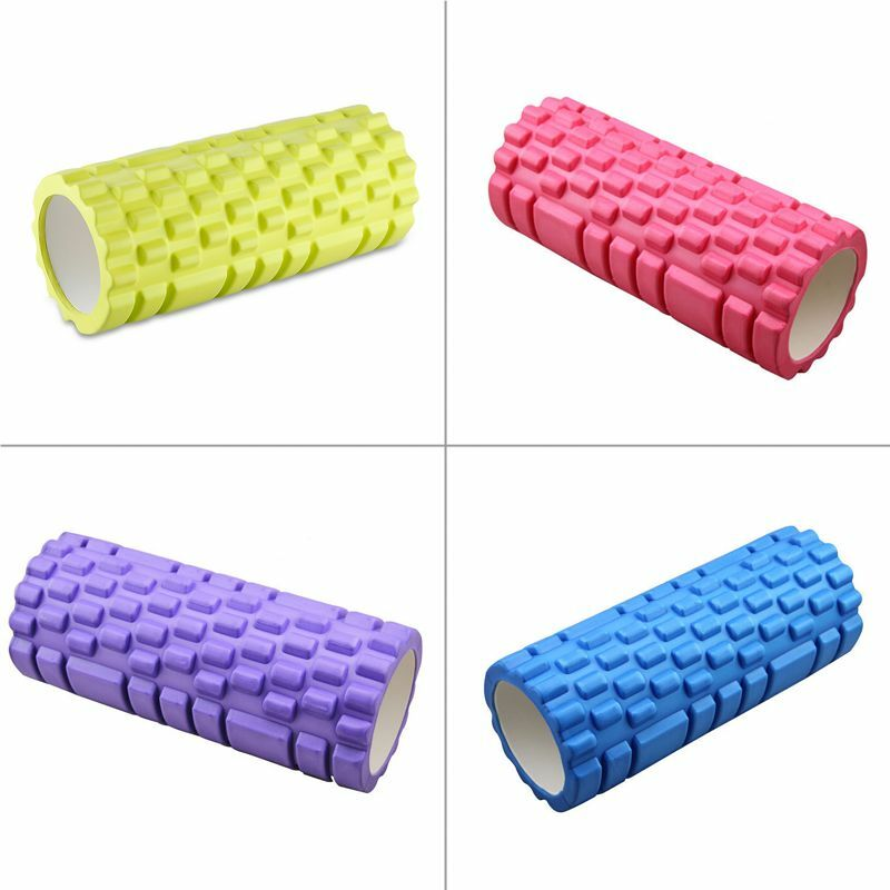 funtrend24 yoga pilates fitness massage rolle therapie roller sina 33x14 cm ebay. Black Bedroom Furniture Sets. Home Design Ideas