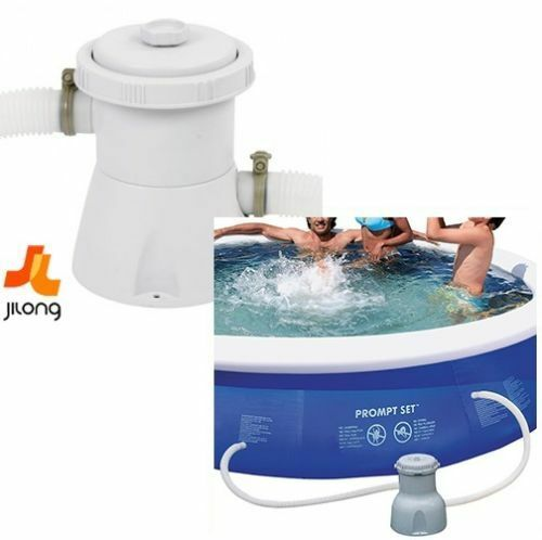 jilong super clean filter pump above ground garden pool