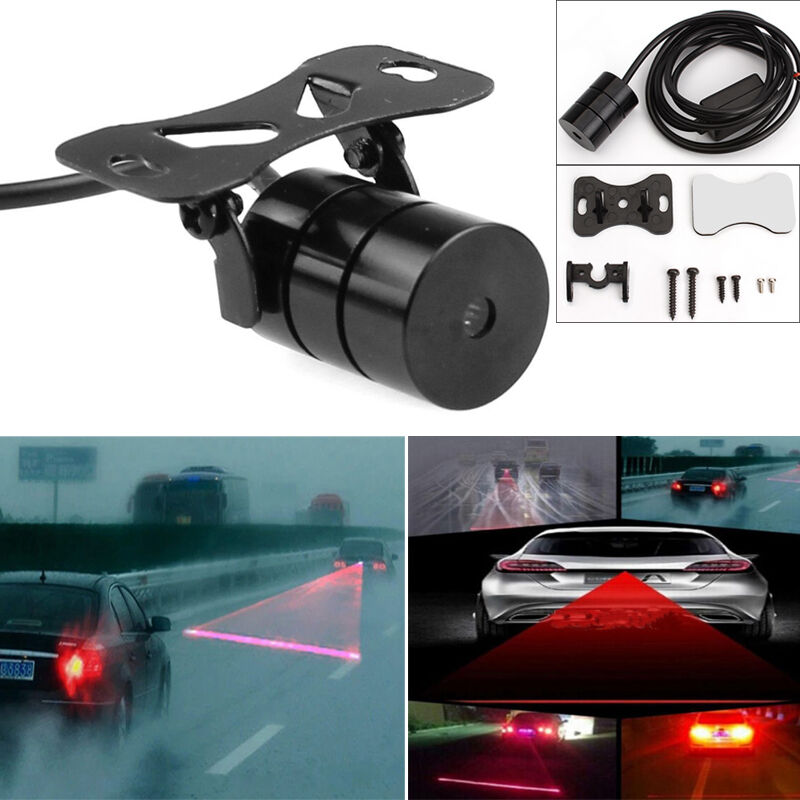 car fog light led laser rear anti collision taillight 88072