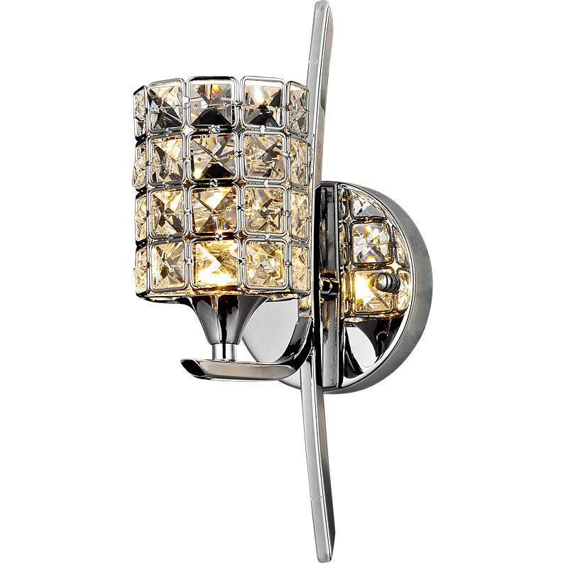 Led Wall Sconce Light Fixtures : Crystal Torch Bedroom Wall Lamp Bathroom Mirror Front Wall Sconces Light Fixture eBay