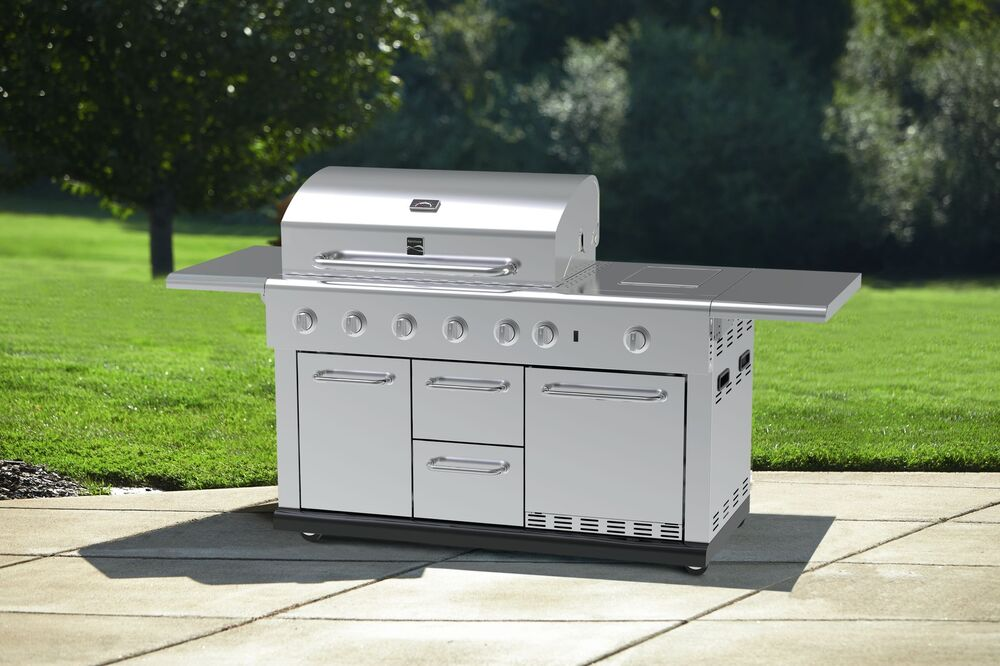 Island Natural Gas Grill