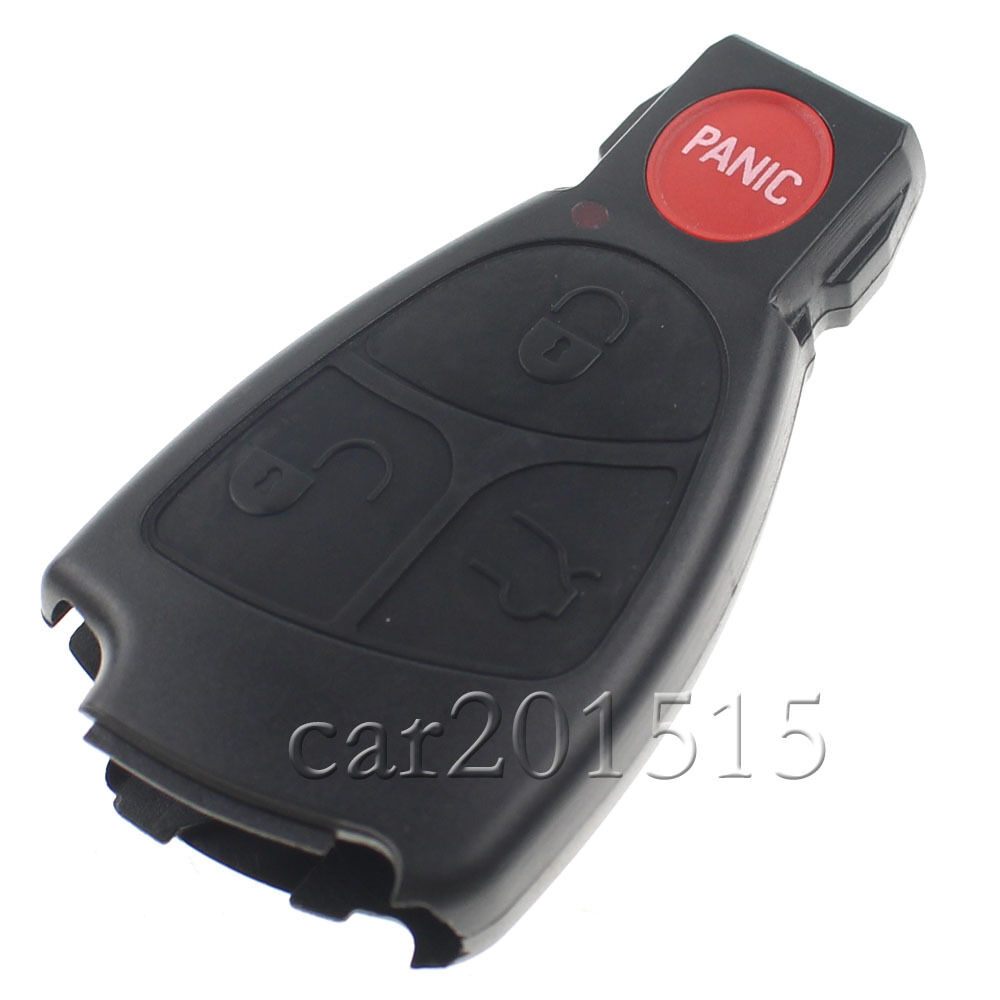 4 buttons remote key fob case for mercedes benz clk320 for Mercedes benz key fob