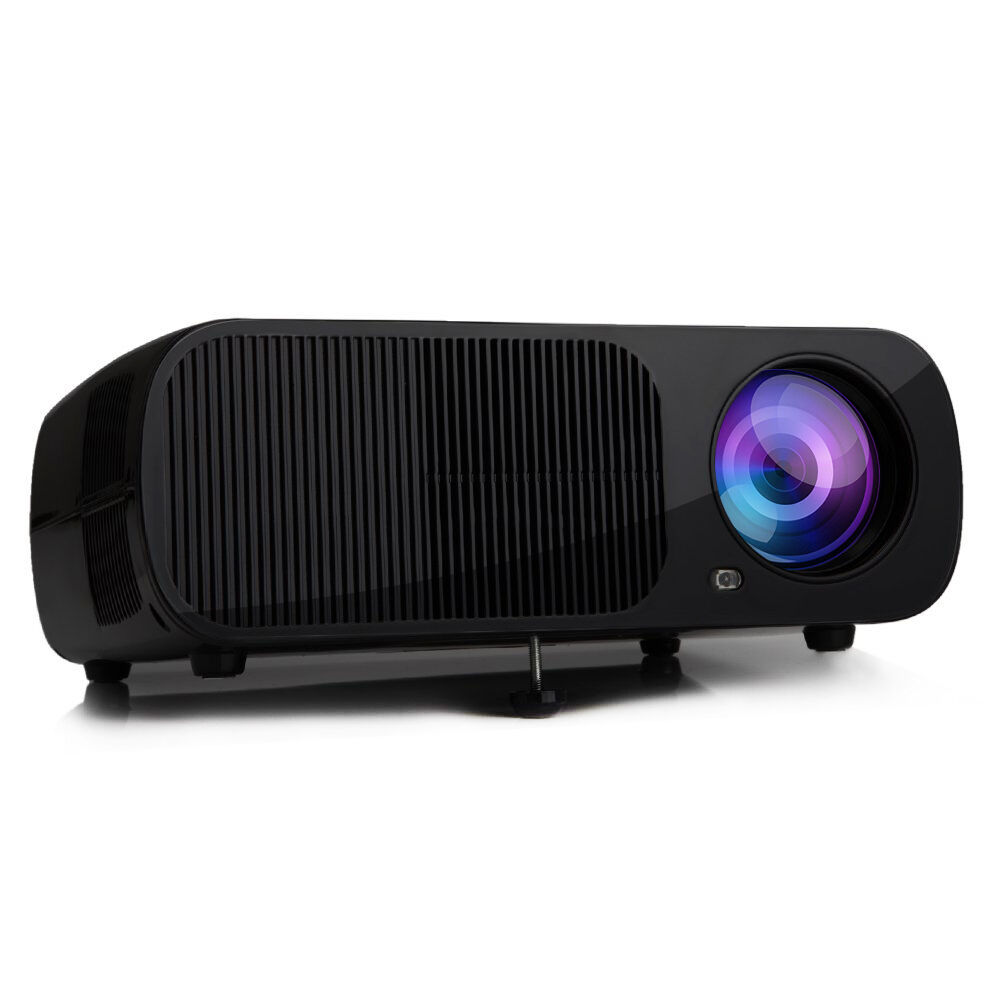 Hd home theater multimedia lcd led projector 1080p hdmi tv for Hd projector