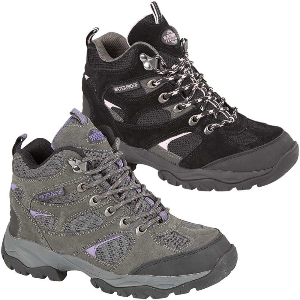 Awesome Keen Gypsum II Mid Womens Blue Waterproof Outdoors Walking Hiking Boots Shoes | EBay