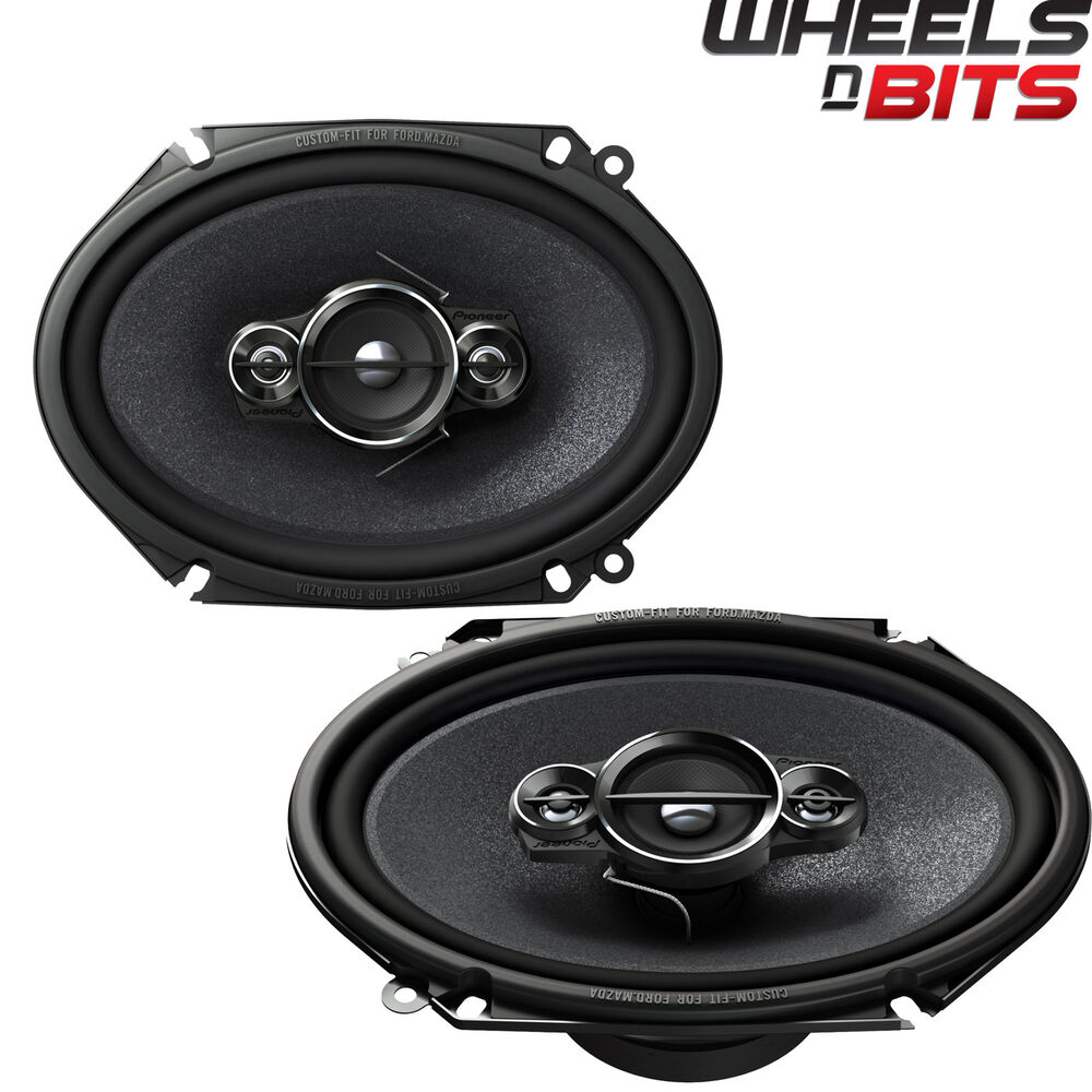 Custom Vehicle Speakers : Pioneer ts a i quot way custom fit coaxial car