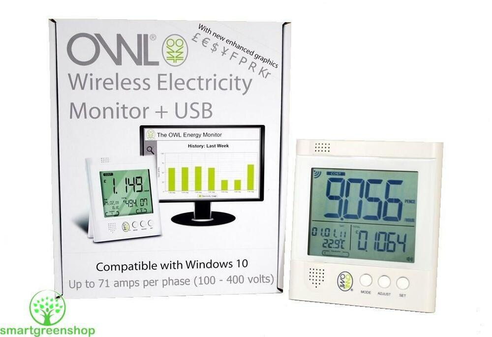 Wireless Home Energy Monitor : Owl usb cm wireless home office electric energy