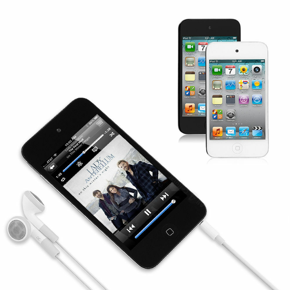 iPod Touch 4th Generation 8GB / 16GB / 32 GB / 64GB Black ...