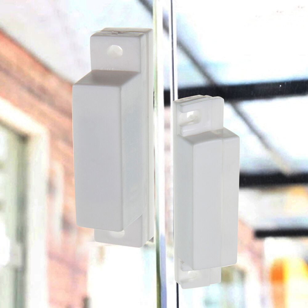 Magnetic sensor wired door window home security entry for Window alarms