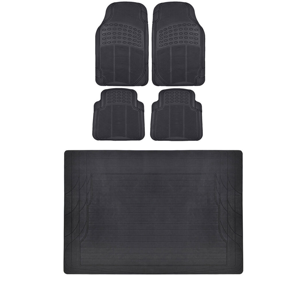 Car Suv Floor Mat Motor Trend Cargo All Weather Protection