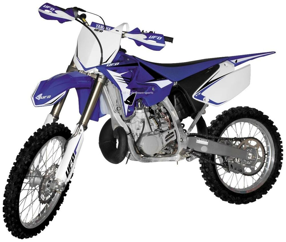 blue oe ufo restyle plastic kit fenders yamaha yz125 yz250 yz 125 250 2006 2014 ebay. Black Bedroom Furniture Sets. Home Design Ideas