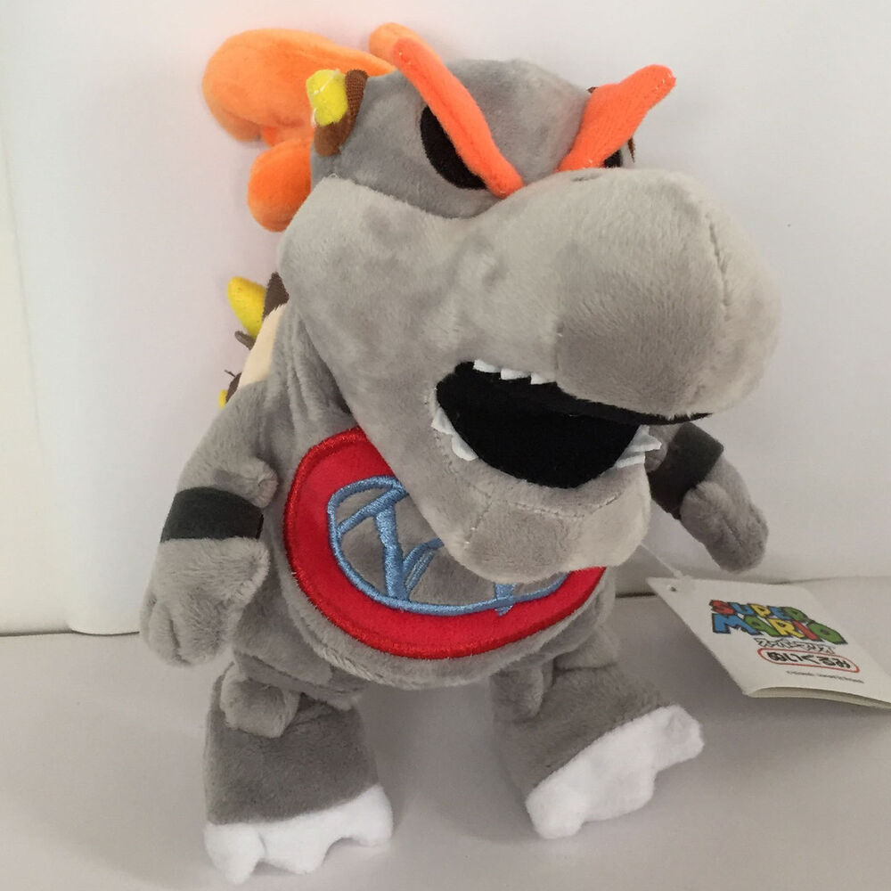 New Super Mario Bros. 2 Plush Dry Bowser Jr. Soft Toy ...