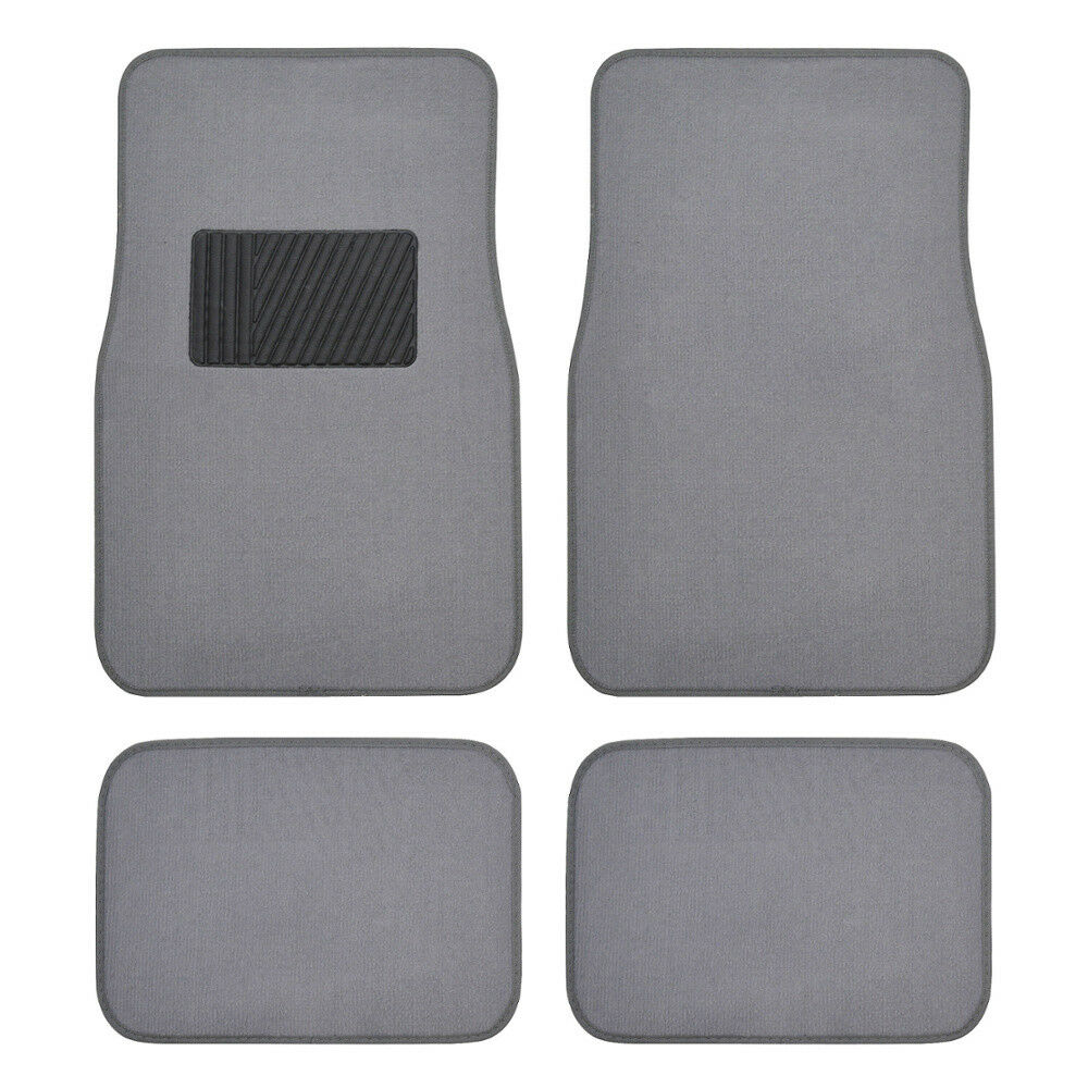 Auto Floor Mats For Car Classic Carpet W Heelpad Light