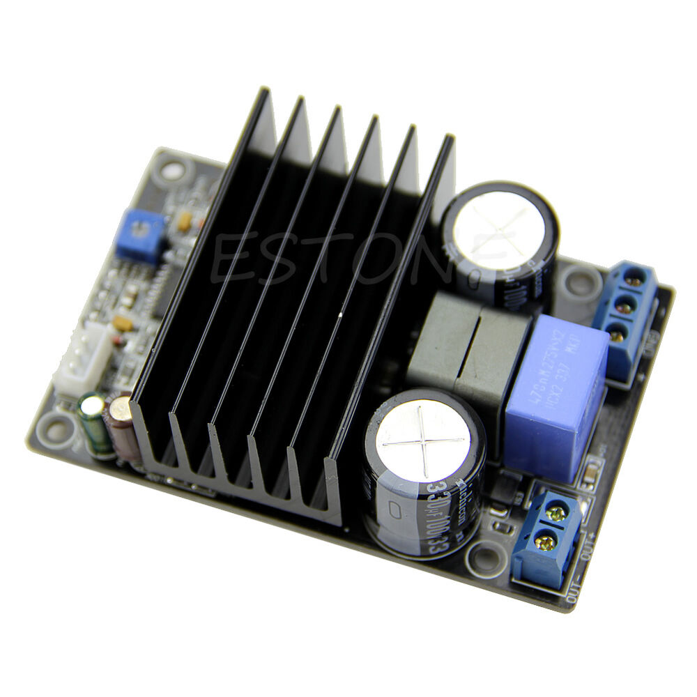 irs2092 class d 200w mono audio power amplifier amp assembled board 1pc ebay. Black Bedroom Furniture Sets. Home Design Ideas