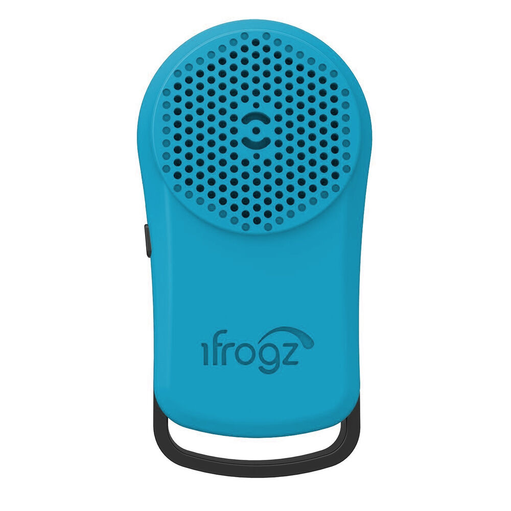 IFrogz Tadpole Bluetooth Speaker - Mini Keychain Speaker - Pick Your Color