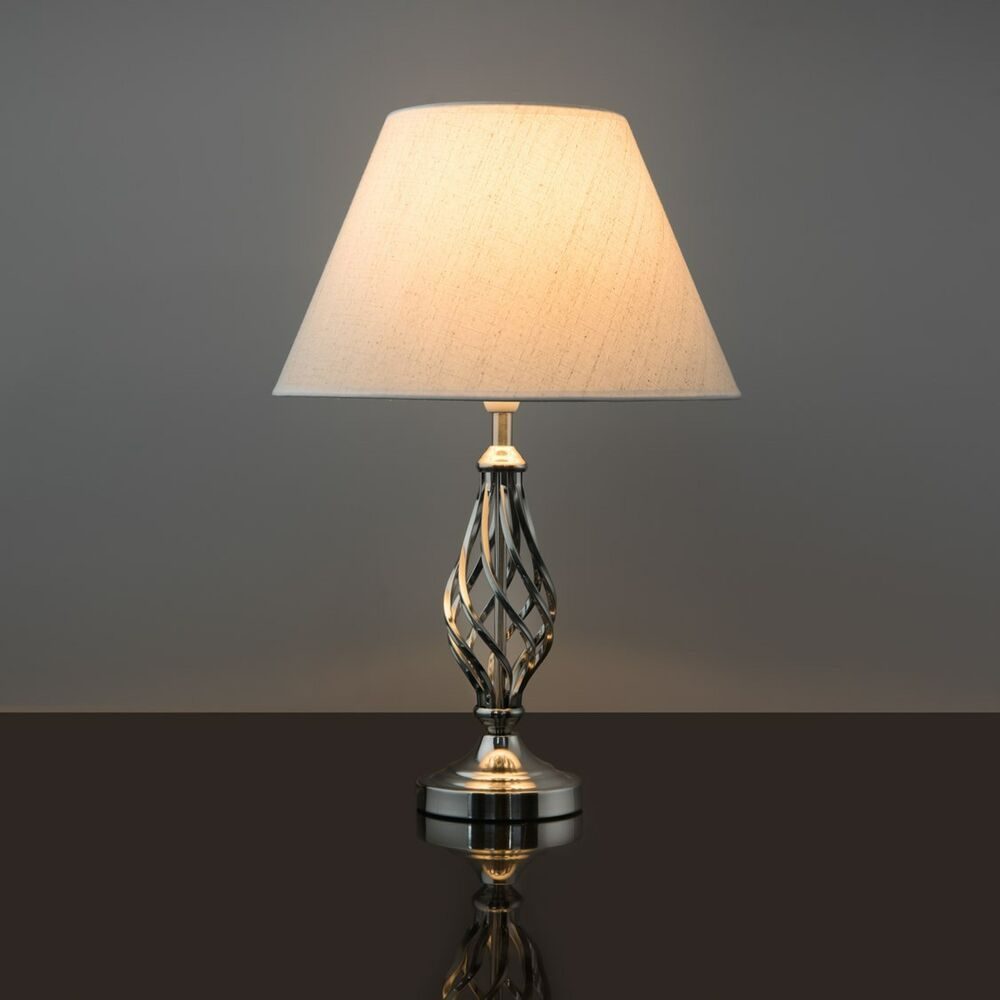 Kingswood Barley Twist Traditional Table Lamp