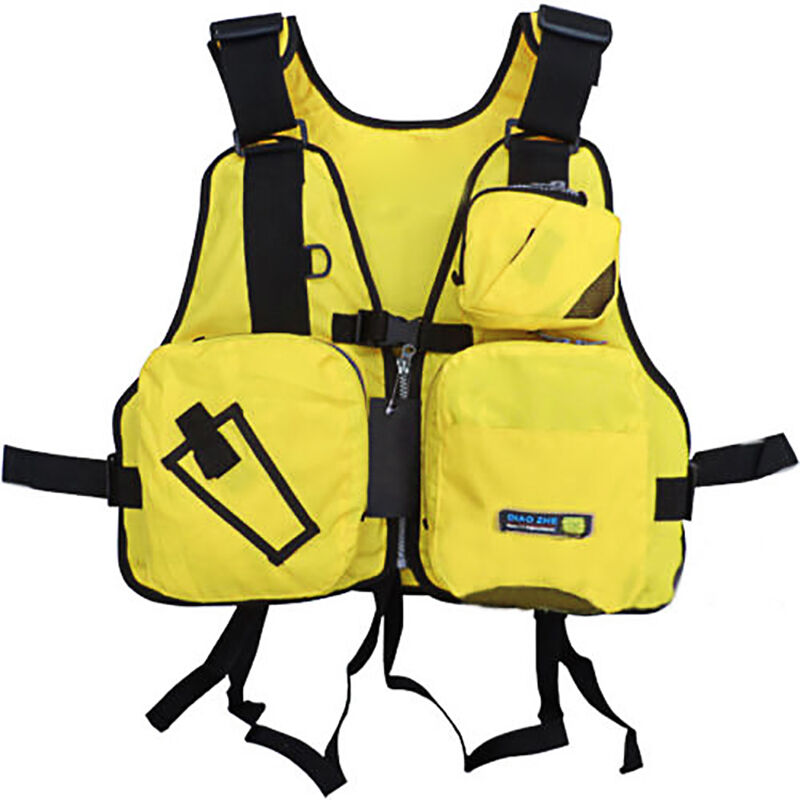 Best come adult adjustable buoyancy aid sailing kayak for Kayak fishing vest