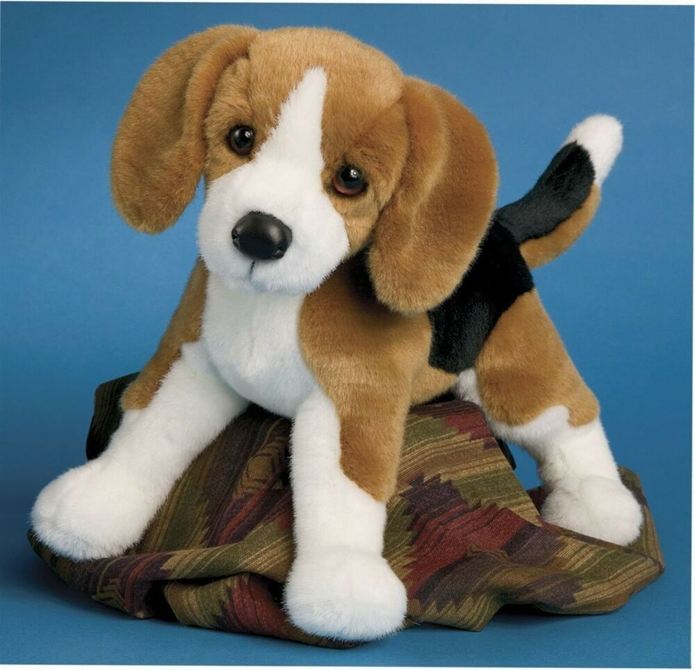 Douglas Cuddle Toys Bernie the Beagle # 2035 Stuffed ...