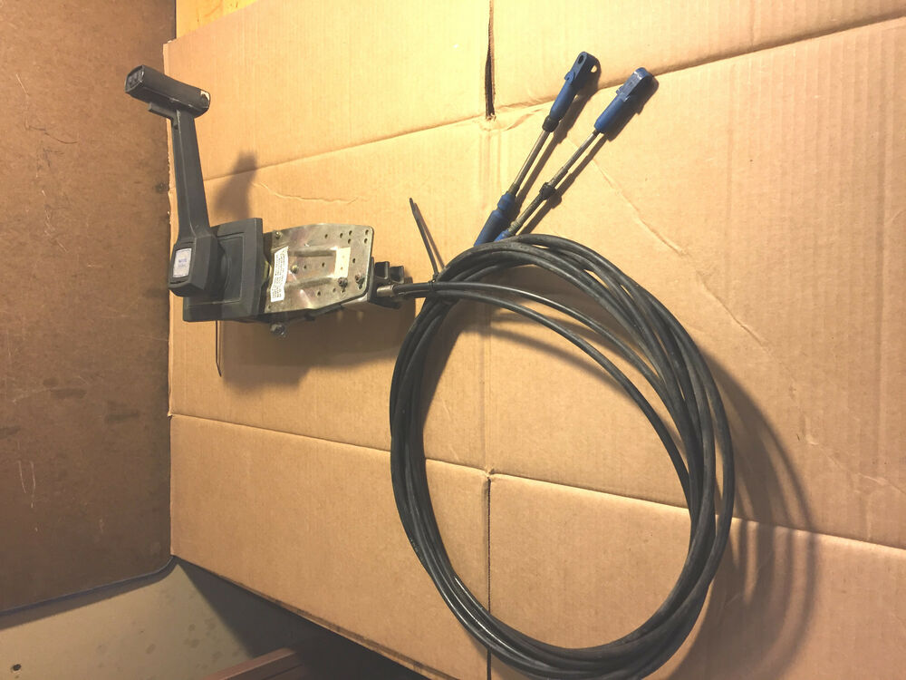 Vintage Morse Throttle Control : Morse throttle shift control assy with ft cable ebay