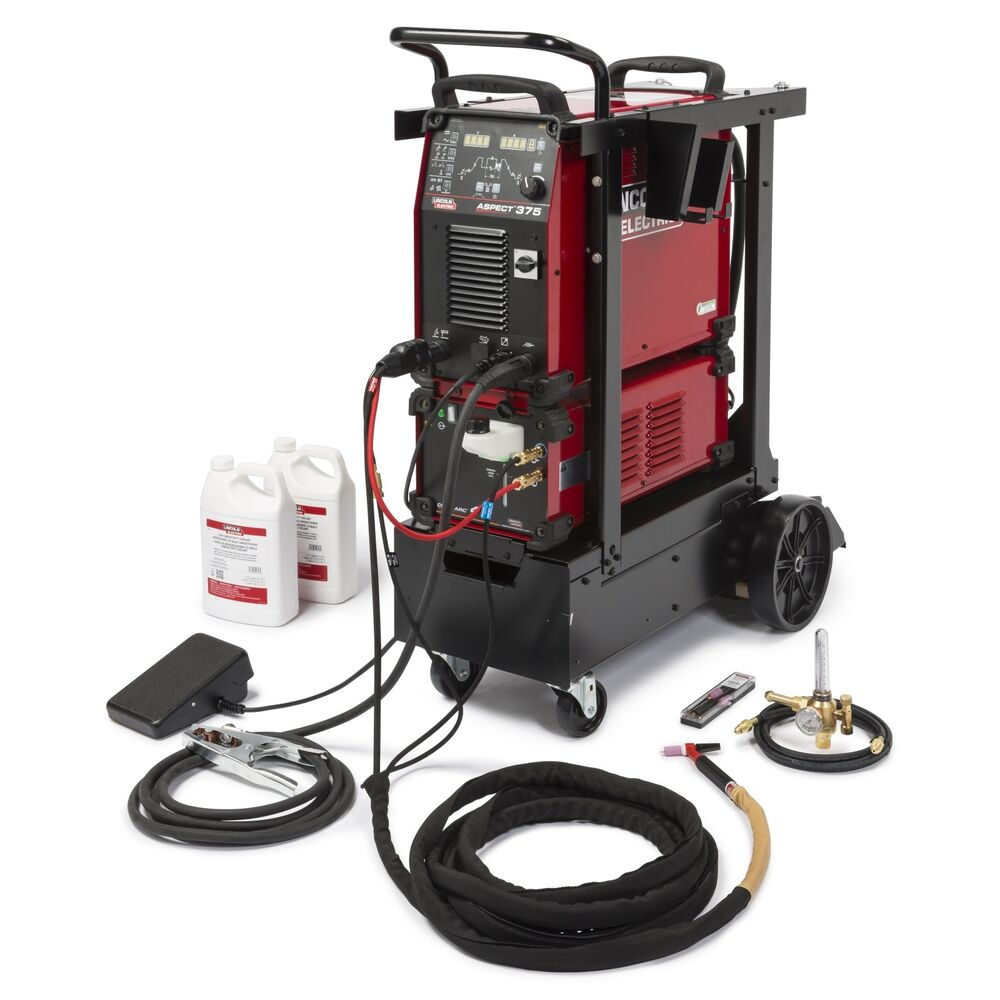 Lincoln Aspect 375 Ready Dc Tig Welder  K3946
