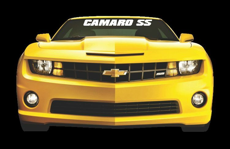 Camaro Ss Windshield Banner Decal Vinyl Sticker Chevy