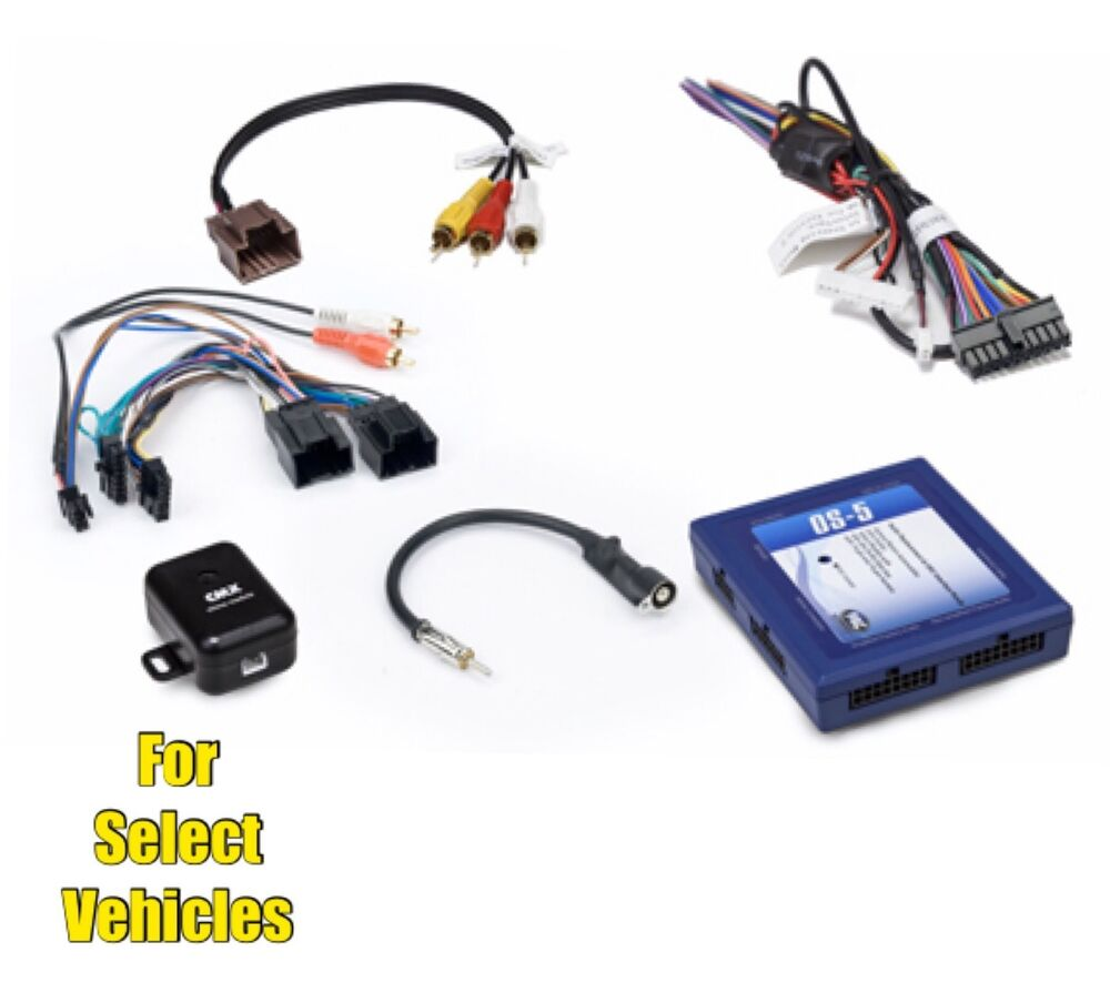 car stereo radio replacement wire harness onstar adapter GM Automotive Connectors GM Wire Terminals