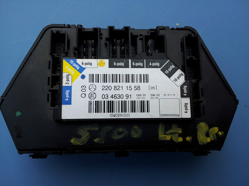 Mercedes benz w220 s430 s500 left rear door control module for 01333 door control module