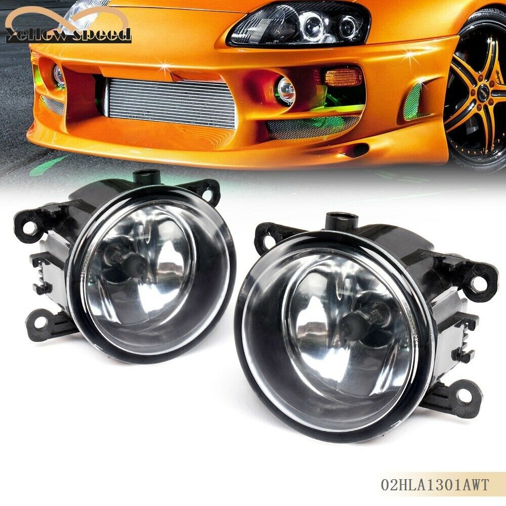 2x Fog Light Lamp Replacement W H11 Bulb For Acura Honda