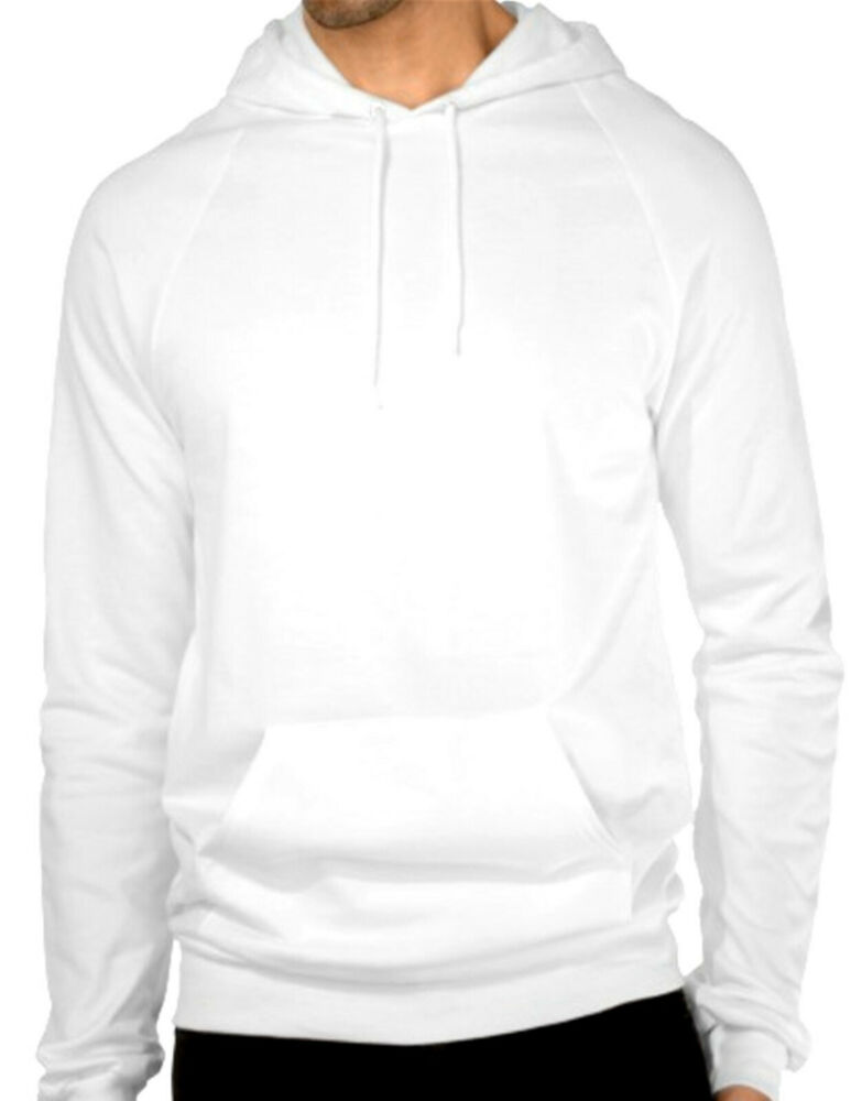 All White Pullover Hoodie | Fashion Ql