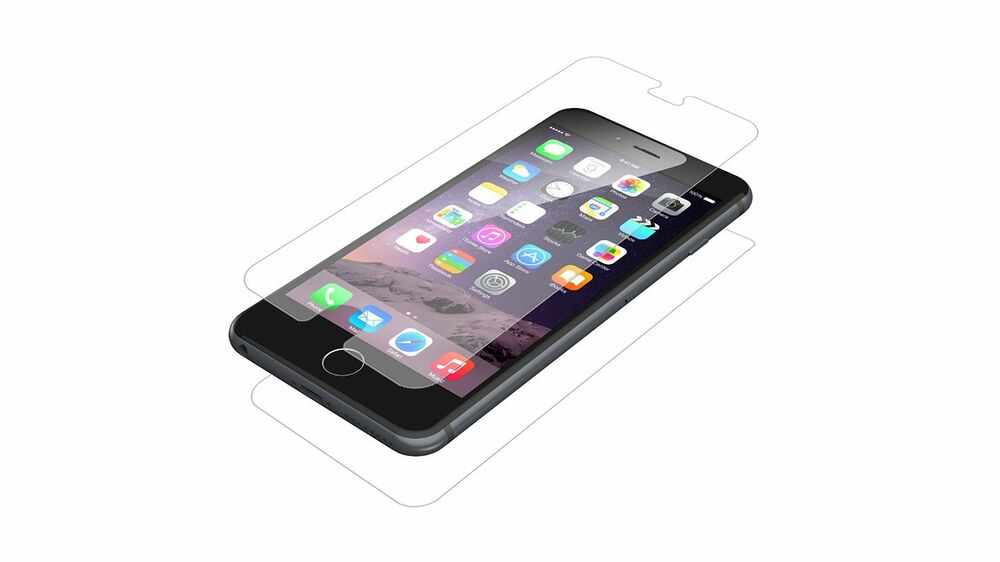 iphone 6 screen protector zagg hdx clarity screen protector iphone 6 plus 15075