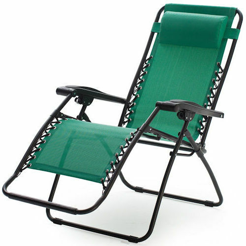 green zero gravity chair outdoor folding recliner lawn