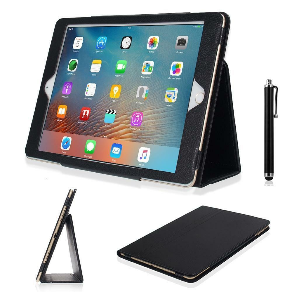 folio magnetic pu leather smart cover stand case for apple ipad wake sleep ebay. Black Bedroom Furniture Sets. Home Design Ideas