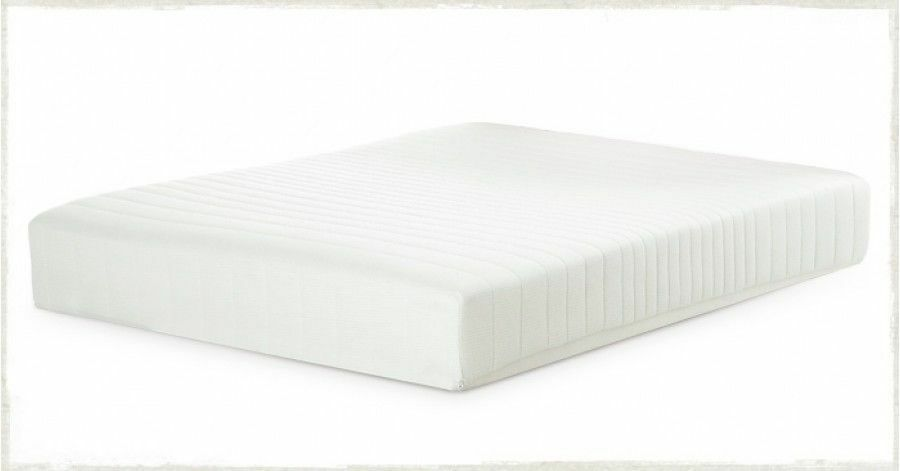 extra thick reflex foam mattress with super soft zip cover