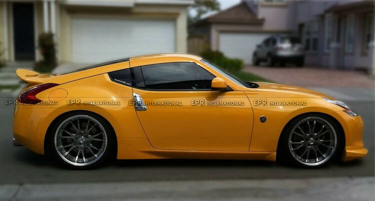 New Rear Trunk Spoiler Wing Lip Protect For Nissan 370z ...