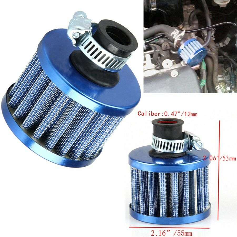 Breather Air Cleaner : Mm car motor cold air intake filter turbo vent crankcase