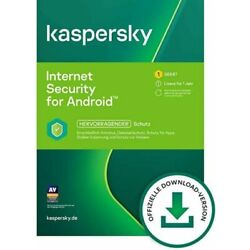 Kyпить Kaspersky Internet Security Android 2021 1 Gerät 1 Jahr Handy Tablet Mobile на еВаy.соm