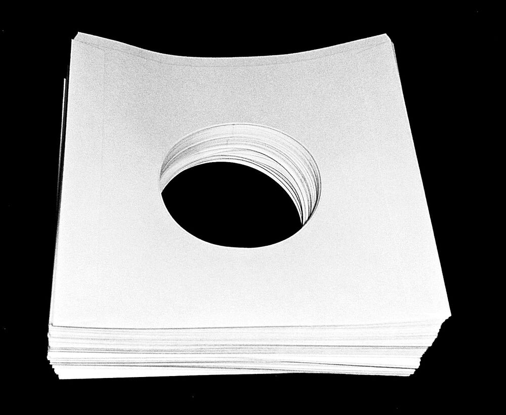 50 45 Rpm 7 Quot Record Inner Sleeves With Hole Heavy Weight