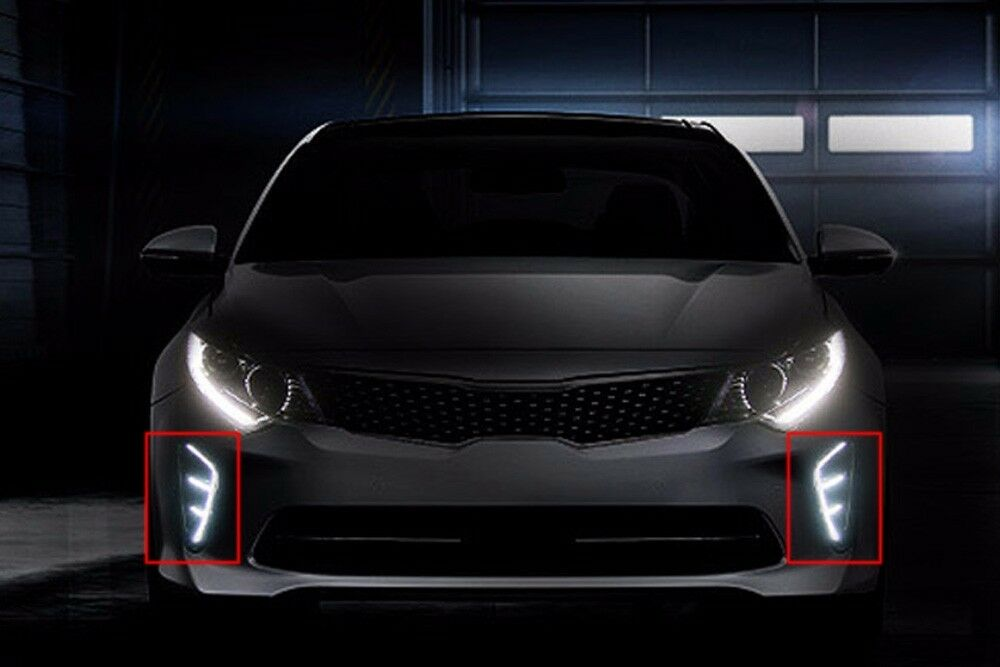 fits kia k5 2016 optima sx led drl daytime positioning. Black Bedroom Furniture Sets. Home Design Ideas