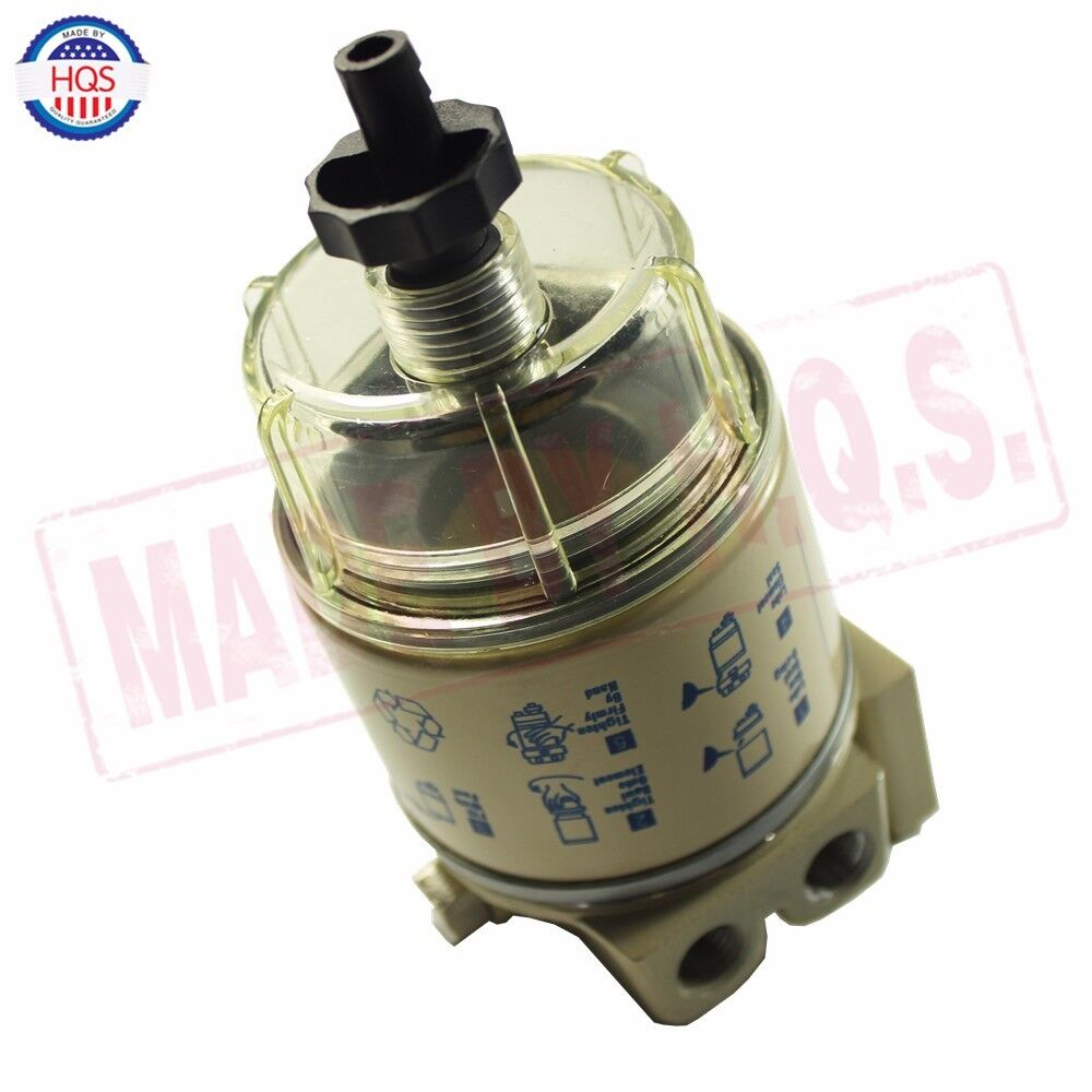 FOR R12T MARINE SPIN-ON HOUSING FUEL FILTER / WATER SEPARATOR 120AT New  686494046634   eBay