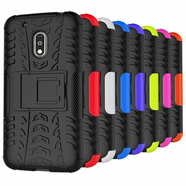 Case Design heavy duty phone case : ... Play Droid / Moto G4 Play Case Kickstand Protective Phone Cover : eBay