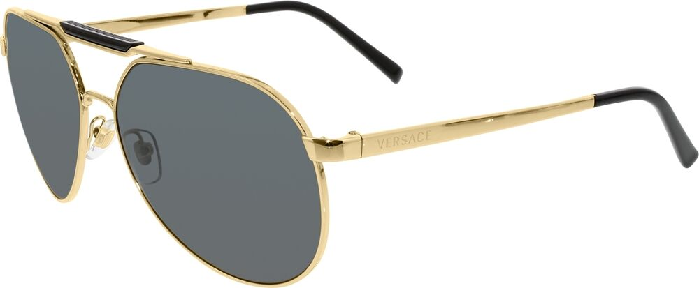 cf30a9c5b21a Mens Aviator Sunglasses Black And Gold