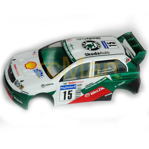Colt Fabia Wrc 160mm Clear Body 1 10 Rc Cars Touring M