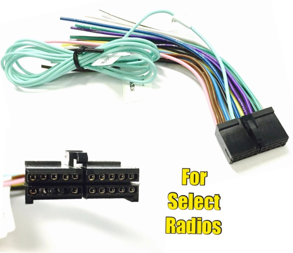 Jensen Stereo Wiring Harness : Car stereo radio replacement wire harness plug for some