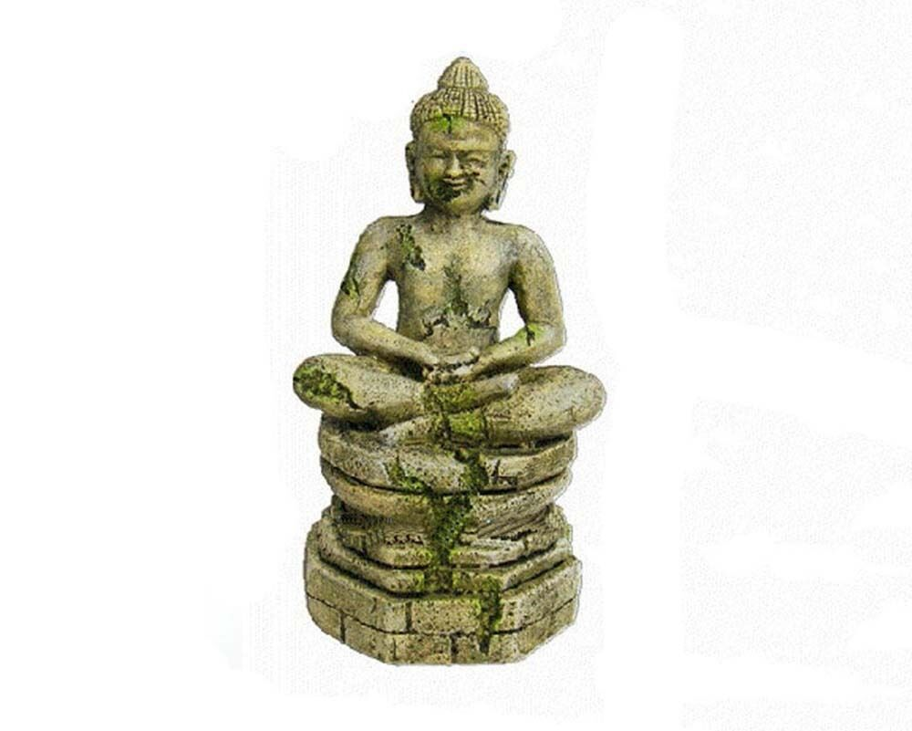 Pet aquarium decoration resin ornament buddha statue for Buddha decorations for the home uk
