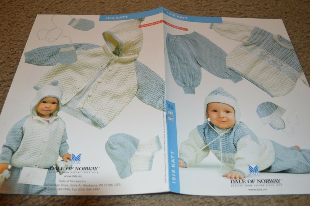 Dale Of Norway Knitting Pattern Books : Dale of Norway Knitting Pattern 0-12 months 1018 Katt English eBay