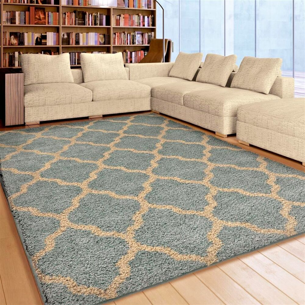 blue living room rug rugs area rugs carpet shag rugs 8x10 area rug modern 13746