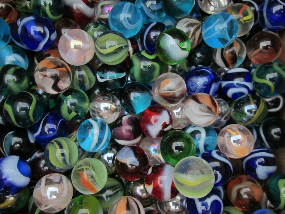 Bulk Colored Marbles : Marbles bulk mix new quot translucent mega