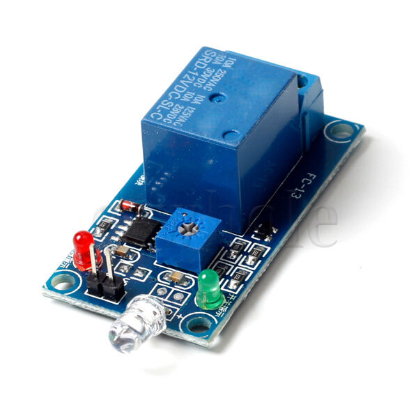 V light control switch photoresistor relay module