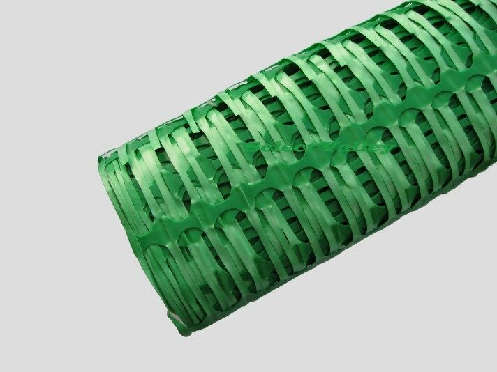 Plastic mesh safety barrier fencing heavy duty no rolls