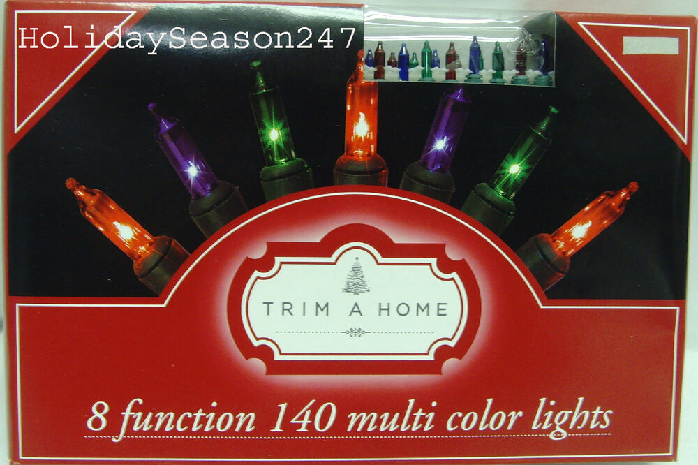 140 Motion Chaser Light String Multi Color 8 Function ...